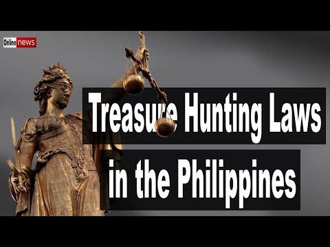 Treasure Hunting Laws In The Philippines 2020 - Yamashita Treasure