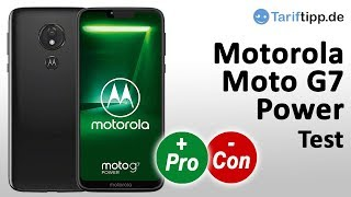 Moto G7 Power | Test deutsch