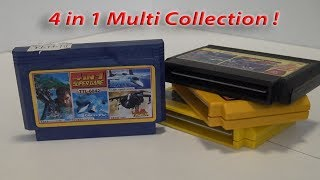 4 in 1 Famicom Mega Multi Famicom Collection Review !