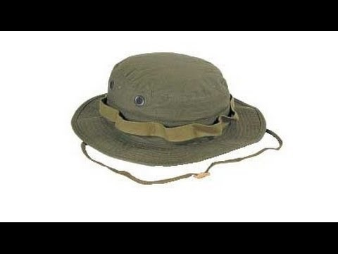 Boonie Hat neck zip cord lock creative tip - YouTube 8df1f7e0f31