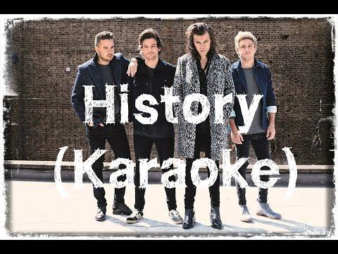 One Direction - History (Karaoke)