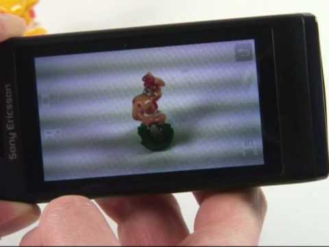 Sony-Ericsson Aino Test Kamera