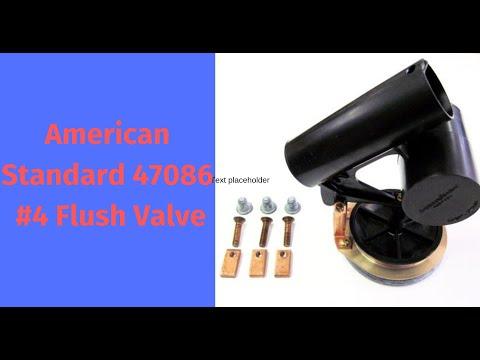 American Standard #4  Flush Valve For One Piece Toilet