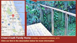 4-bed 2-bath Family Home for Sale in Altamonte Springs, Florida on florida-magic.com