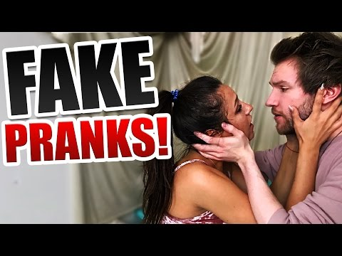FAKE PRANK COMPILATION!
