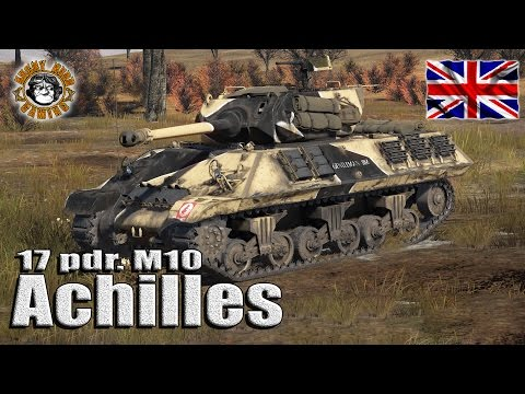 "War Thunder: 17 pdr. M10 Achilles, British Tier-2 ""Premium Tank Destroyer"""