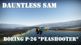 "War Thunder: P-26 ""Peashooter"""