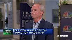 If tariffs don't stop, they'll impact housing demand: Clayton Homes CEO