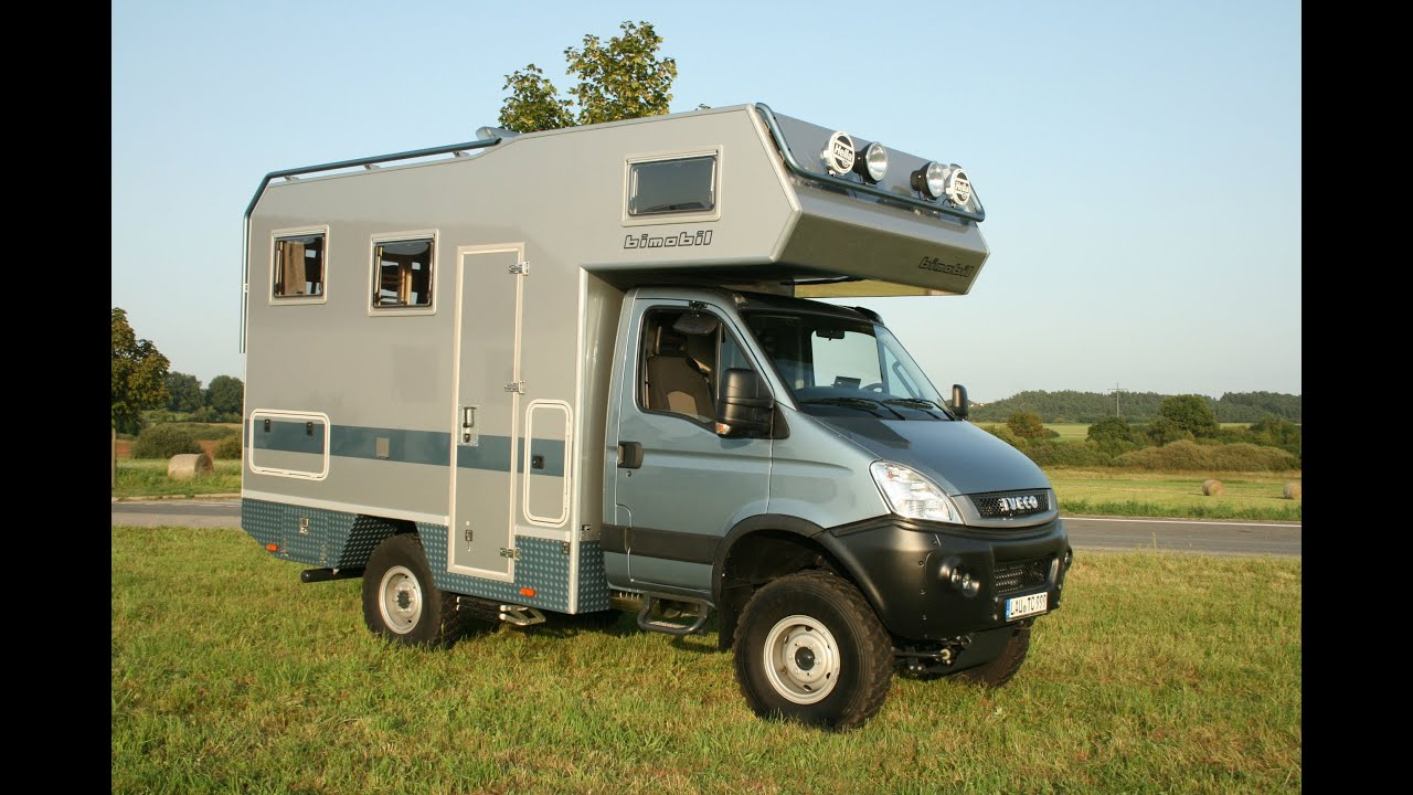 4x4 bimobil ex 358 overland campervan iveco youtube. Black Bedroom Furniture Sets. Home Design Ideas
