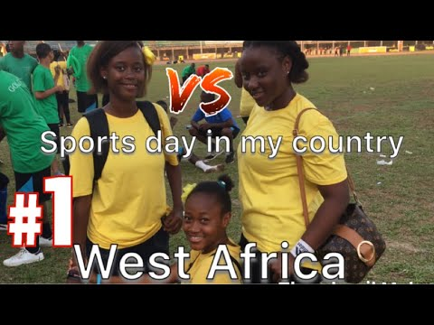 SPORTS DAY IN MY COUNTY #sierraleone