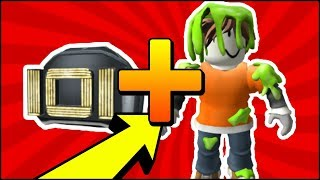 HOW TO GET The NEW CHAPEU is NEW BODY OF ROBLOX CODIGO GRATÍS (Slimed Body Suit-IOI Helmet)