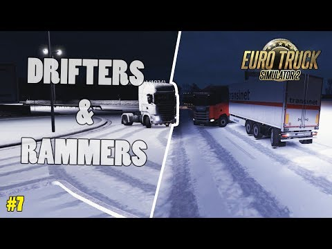 Rammers - Proper Driving vs. ETS2MP Winter Mod | Euro Truck Simulator 2