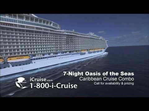 Oasis Of The Seas Night Caribbean Cruise Combo ICruise YouTube - Oasis of the seas cruise ship prices