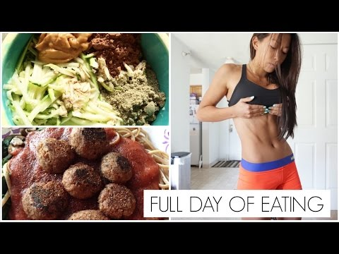 "Vegetarian Full Day of Eating: ""Meat""Balls, & Bikini Competition?!"