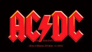 AC/DC - Safe In New York City (Live Phoenix , AZ Sept.13 ,2000)
