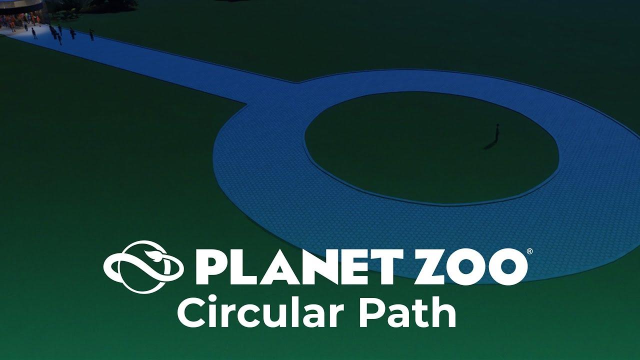 Circular Path In Planet Zoo Youtube