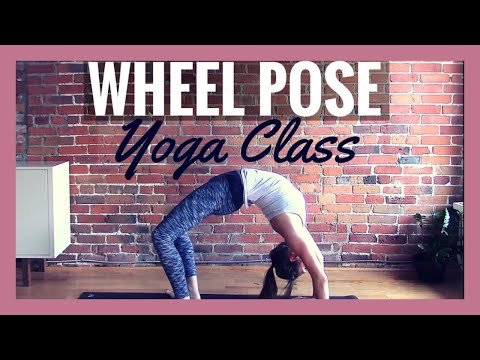 Vinyasa Yoga for Backbends - 40 min Class to Get Into Wheel Pose!
