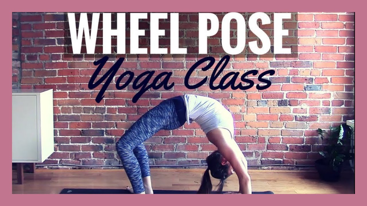 Vinyasa Yoga for Backbends - 36 min Class to Get Into Wheel Pose!