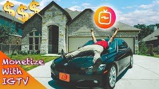 How I QUIT My Full Time Job Monetizing With IGTV | Make Money From Instagram TV