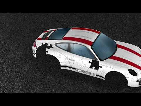 Ravensburger 3D pusle - Porsche 911