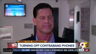 New technology to help shut down contraband phones in prison