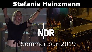 Stefanie Heinzmann - Shadows / Mother's Heart + Interview - NDR Sommertour 27.7.2019
