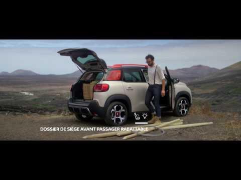 Nouveau SUV Compact Citroën C3 Aircross, habitabilité et modularité records