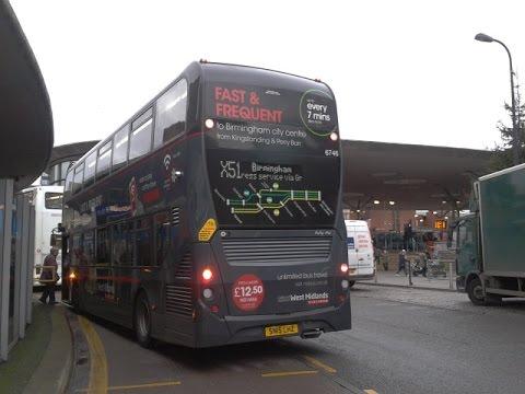 National Express West Midlands Alexander Dennis Enviro 400 4736 BV57 XJA Route 51: Expressway