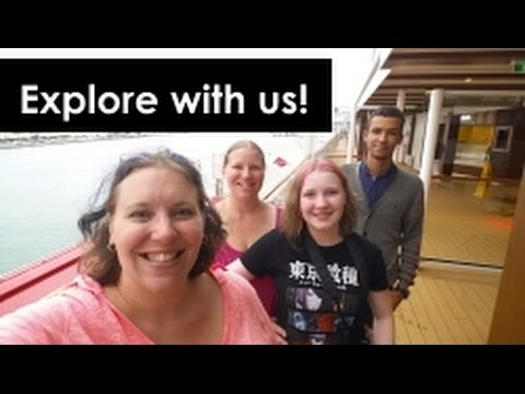 Sail Away & Exploring the Norwegian Escape Cruise Ship! Vlog [ep4]