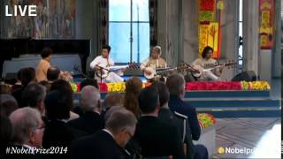 Nobel Peace Prize 2014, Amjad Ali Khan performance
