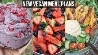 NEW Plant-Based Meal Plans // High Raw, Gluten Free, Low Fat