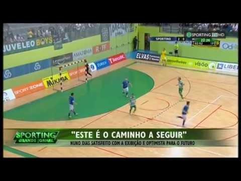 Futsal :: 23J :: Sporting - 7 x Módicus - 1 de 2014/2015