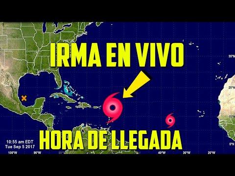 🌎 Huracan Irma EN VIVO: Amenaza Republica Dominicana y Puerto Rico, Ya es Categoria 5