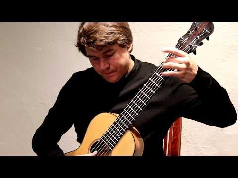Patrik Kleemola plays Fernando Sor Etude 22 op. 60