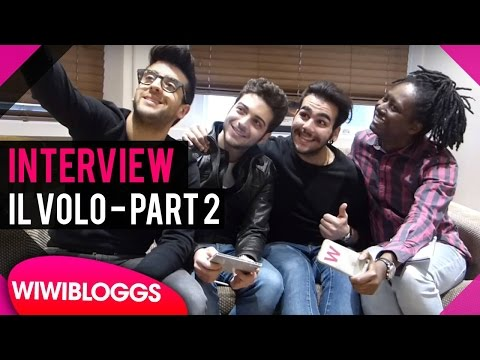 "Il Volo interview @ London Palladium on ""Grande Amore"" 