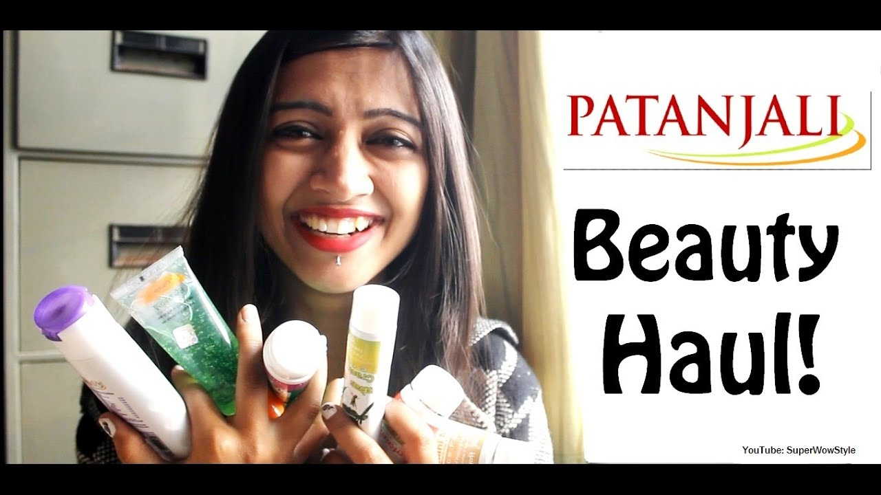 Part 1- Patanjali Haul! - HONEST Review - (Beauty Products for Skin & Hair) // SuperWowStyle Pra