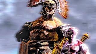 GOD OF WAR 3 Hercules BOSS FIGHT (PS4 60FPS) God Of War 3 Kratos VS Hercules