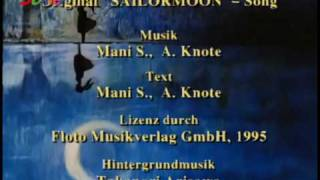 Sailor Moon Ending German