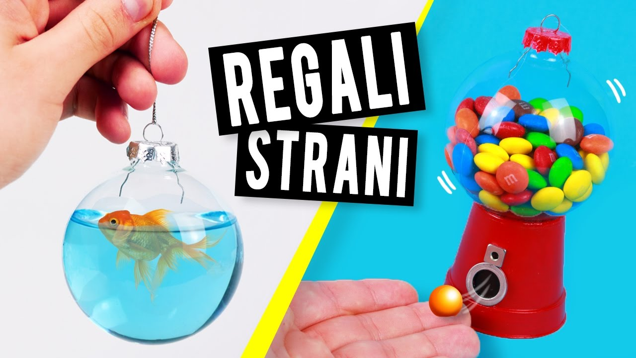 diy 5 semplici strani regali dell 39 ultimo minuto youtube ForRegali Per