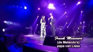 Houden van Griffelrock 2016 Lissa Lewis in duet met haar vader Frank