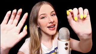 ASMR Tingly Mouth Sounds & Hand Movements