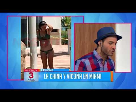 Las fotos de La China Suárez y Benjamín Vicuña en Miami