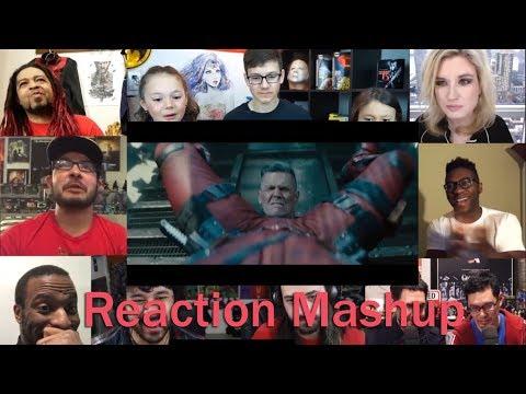 Deadpool 2  The Final Trailer REACTION MASHUP