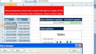 Excel Magic Trick 414: Retroactive Dynamic Ranges!