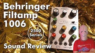 Review Behringer Filtamp 1006 Eurorack Module Series 2500 (Arp)