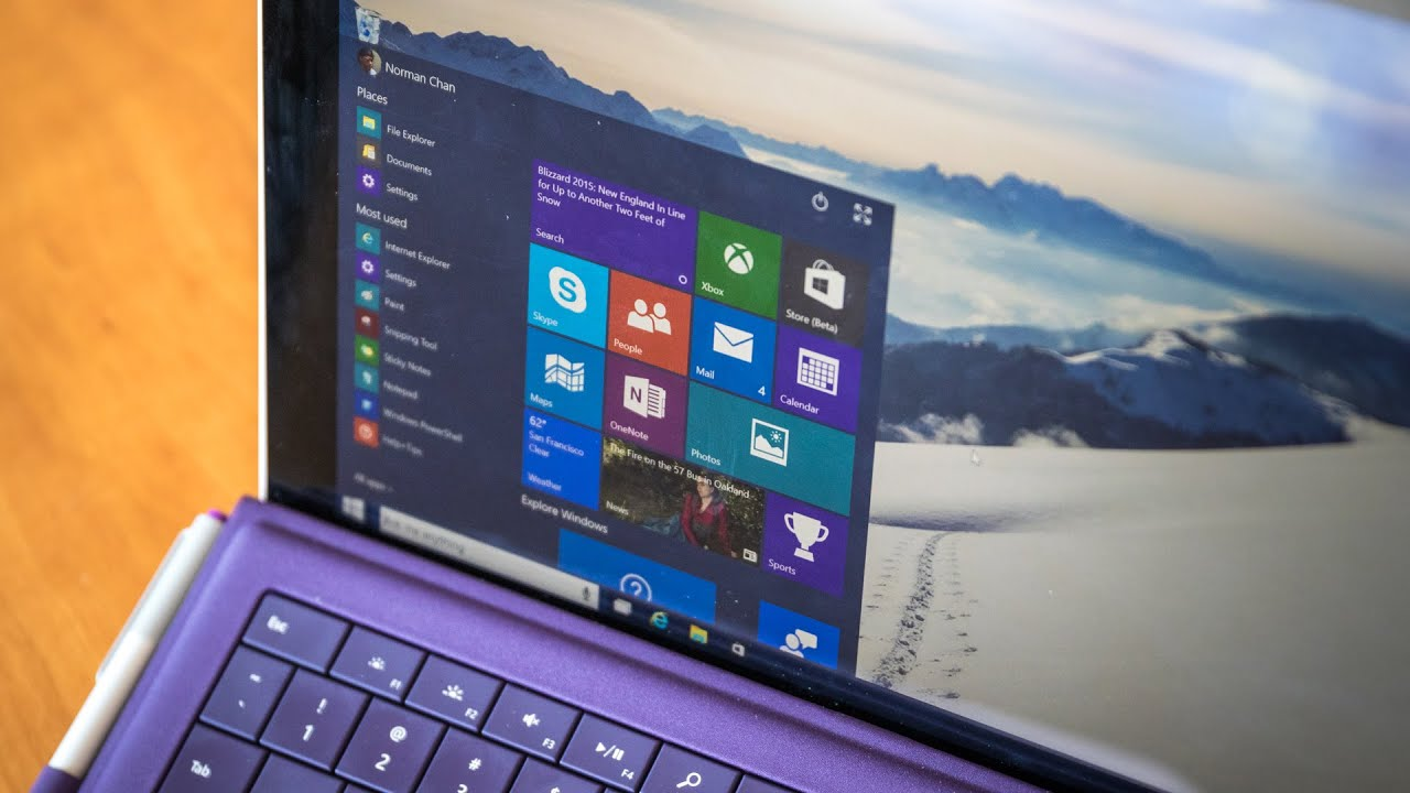 What's New in Windows 10 Technical Preview (with Cortana ...