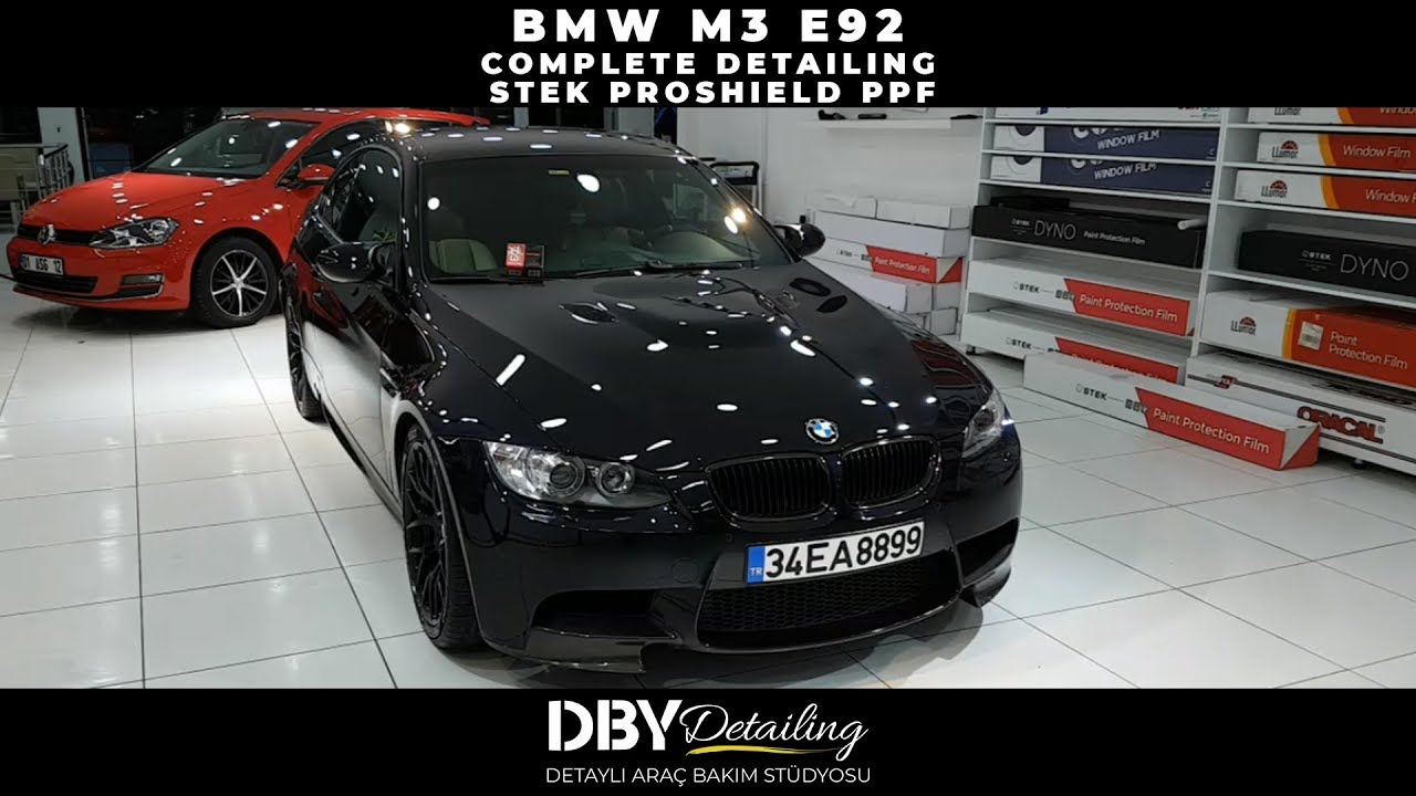 BMW M3 E92 | DETAILING APPLICATIONS | STEK ProShield Paint Protection Film  | DBY Detailing