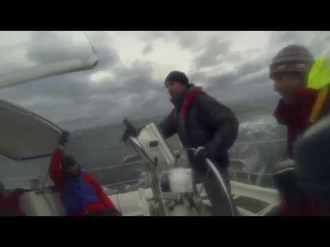 Sailing to Sucia Island in the San Juan Islands