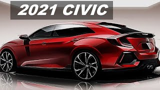 2021 HONDA CIVIC SEDAN REDESIGN - SUPER LIMITED BEST NEW SEDAN INTERIOR AND EXTERIOR