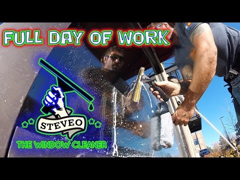 FULL DAY OF WORK | TRADITIONAL WINDOW CLEANING